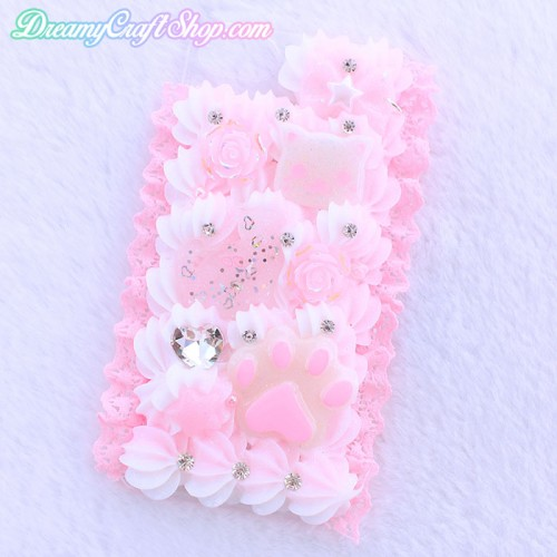iPhone 7/8 Pink Kitten Whip Phone Case