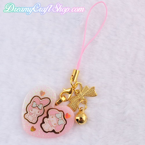 My Melody Phone Strap