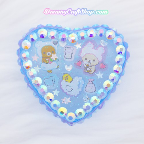 Rilakkuma Bath Time Trinket Box