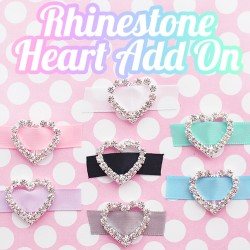 Rhinestone Heart - Add On