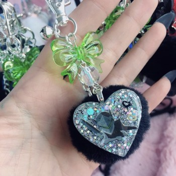 "Genji Game Mini Fur Charm ""A"""