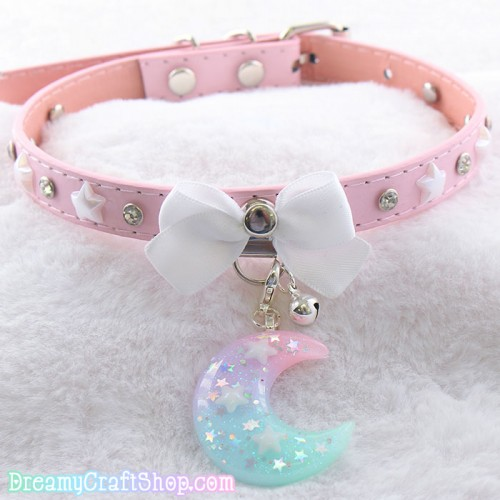 12-16 Inches Moon and Stars Collar
