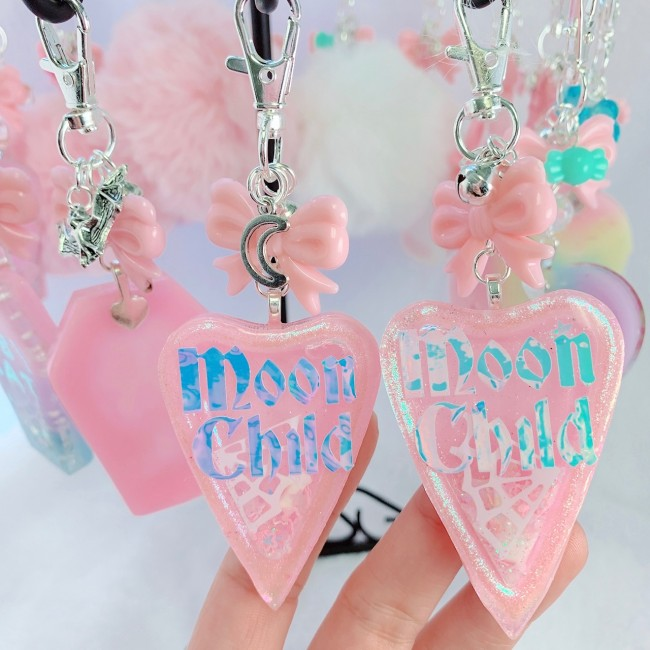 Moon Child Ouija Shaker Charm