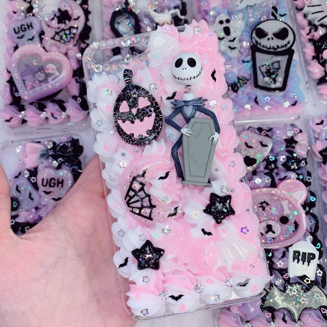 iPhone 7/8 PLUS Jack Skellington Whip Case
