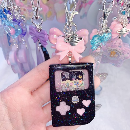 Rilakkuma Space Gameboy Charm (Pink)