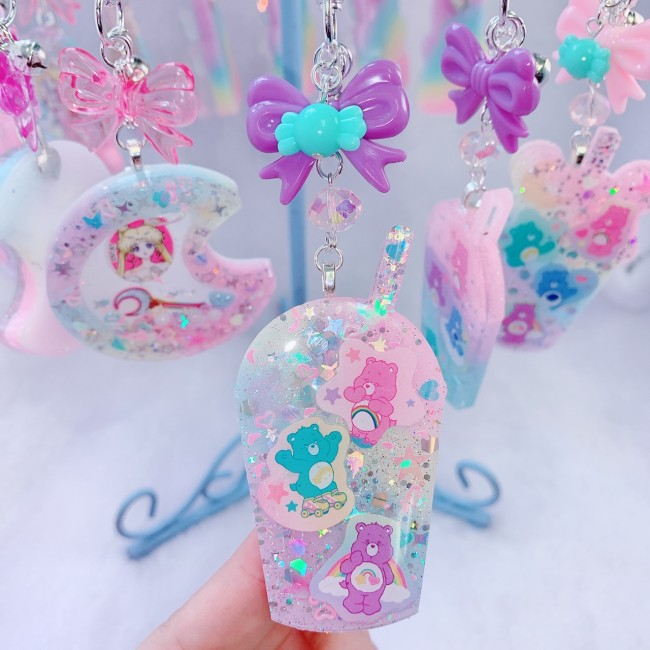 """Care Bears Drink Cup Charm """"A"""""""