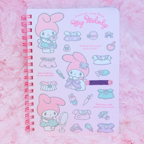 My Melody Dress Up Spiral Notebook
