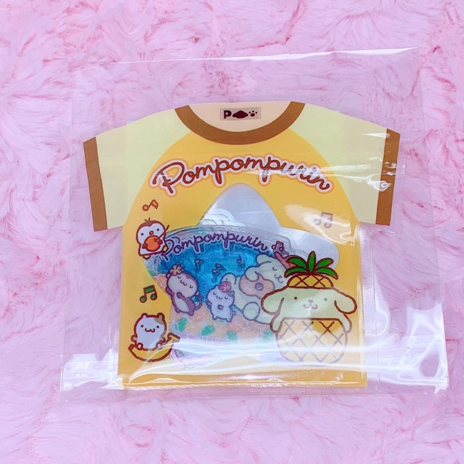 Pom Pom Purin Summer Stickers (T-shirt Design)