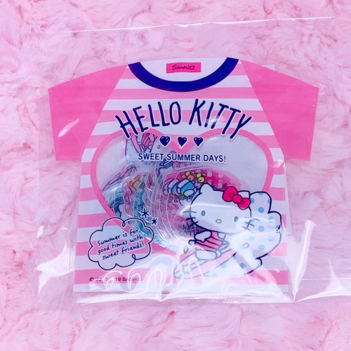 Hello Kitty Summer Stickers (T-shirt Design)