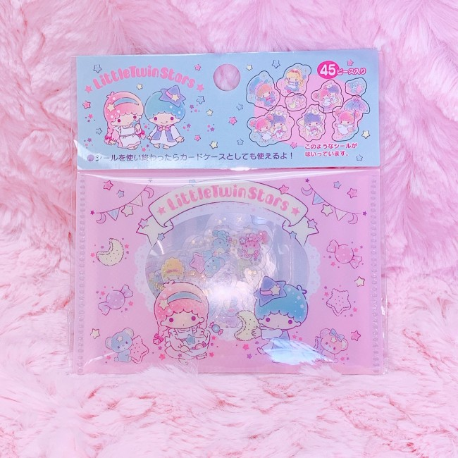 Little Twin Stars Stickers (With Pouch)