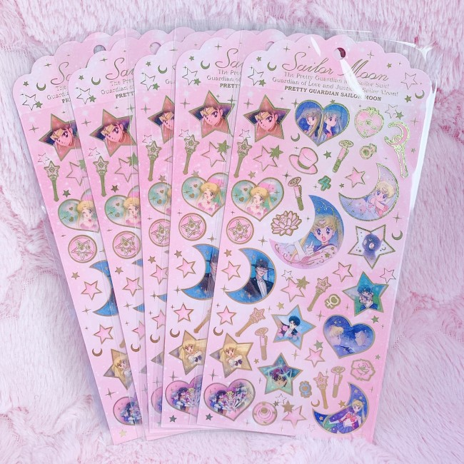 Sailor Moon Sticker Sheet