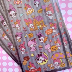 My Melody Halloween Stickers