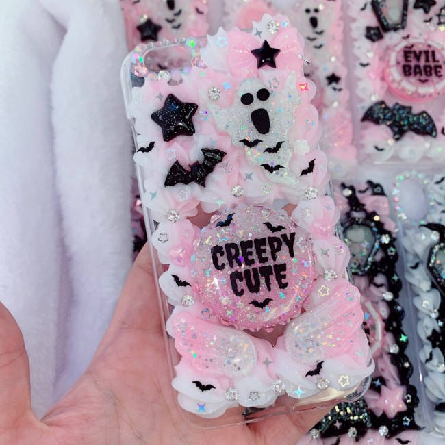 iPhone 6/6s Creepy Cute Phone Grip Case