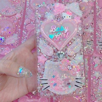 iPhone XR Baby Girl HK Rhinestone Case
