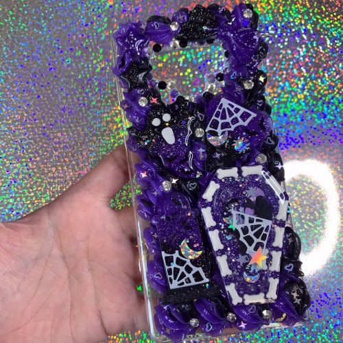 Galaxy Note 9 Spooky Whip Case (Purple)