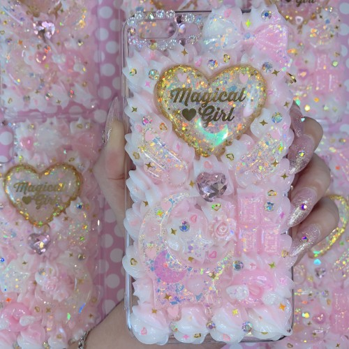 iPhone 7/8 Plus Magical Girl Whip Case