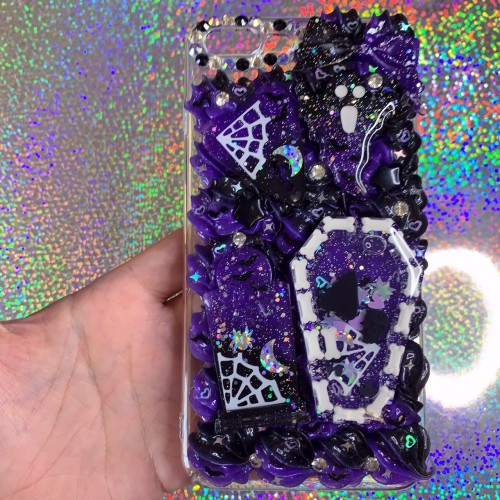 iPhone 7/8 Plus Spooky Whip Case (Purple)