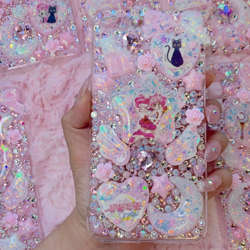 iPhone 7/8 plus Chiba Moon Rhinestone Case