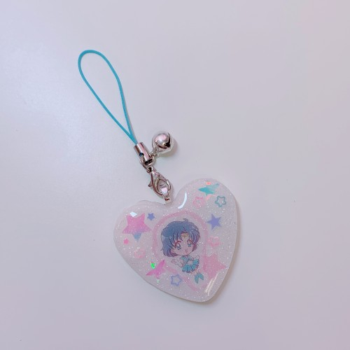 Sailor Mercury Strap Charm