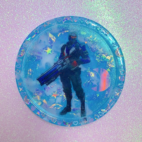 Overwatch Soldier 76 Coaster