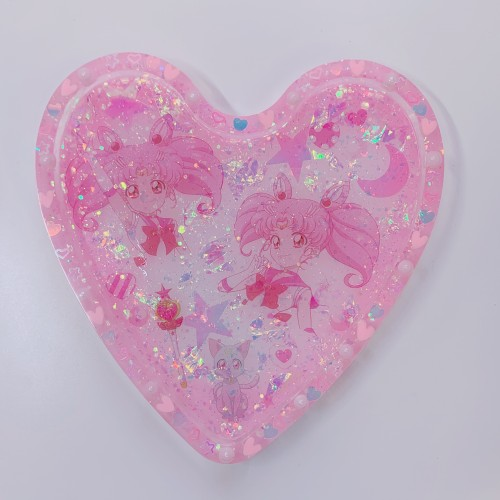 Chibiusa Heart Trinket Tray
