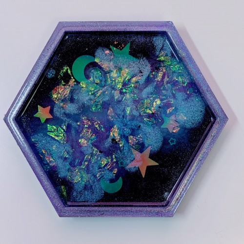 "Galaxy Trinket Tray ""A"""