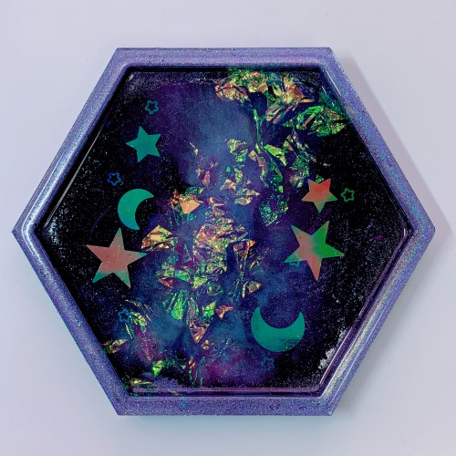 "Galaxy Trinket Tray ""B"""
