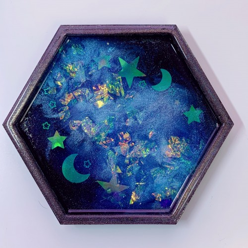 "Galaxy Trinket Tray ""C"""