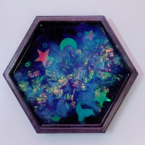 "Galaxy Trinket Tray ""D"""