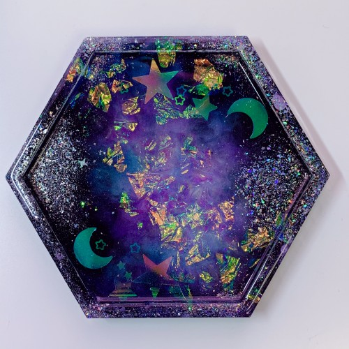 "Galaxy Trinket Tray ""E"""