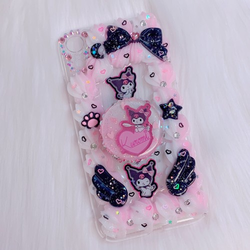 iPhone 11 PRO Kuromi Grip Case