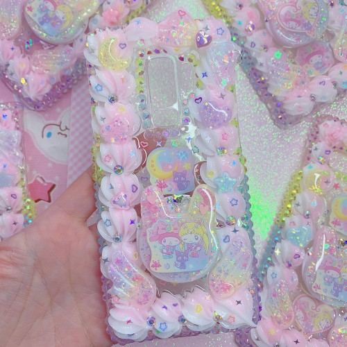 Galaxy S9 Plus Sailor Moon My Melody Grip Case