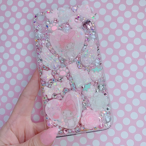 iPhone XR My Melody Rhinestone Case