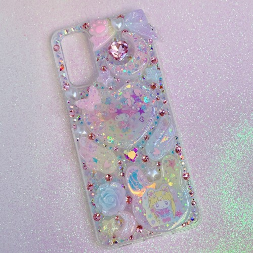 Galaxy S20 Sailor Moon X My Melody Rhinestone Shaker Case