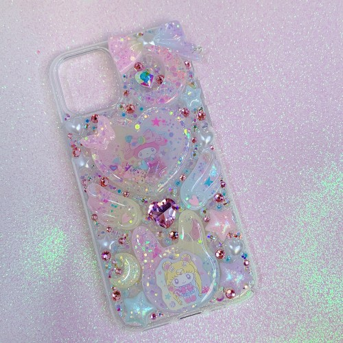 iPhone 11 Pro Sailor Moon X My Melody Rhinestone Shaker Case