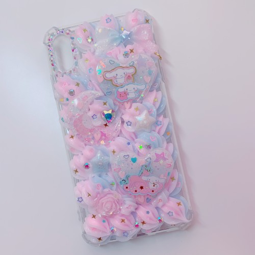 iPhone XS MAX Cinnamoroll Whip Bumper Case