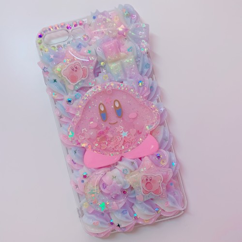 iPhone 7/8 Plus Rainbow Kirby Whip Case