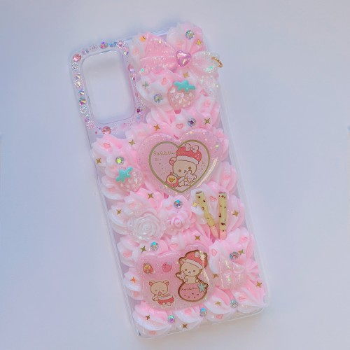 Galaxy S20 Plus Korilakkuma Strawberry Whip Case