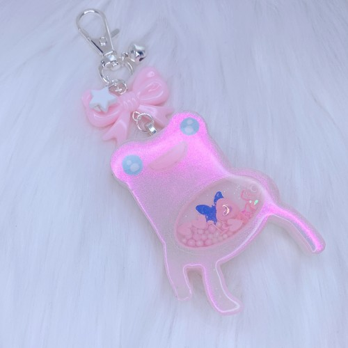 Pink AC Froggy Chair Shaker Charm