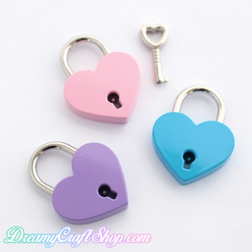 Heart Shaped Lock - Add On