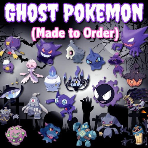Ghost Pokemon - Made to Order Phone Case