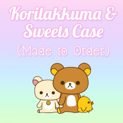 Korilakkuma and Sweets - Made to Order Case
