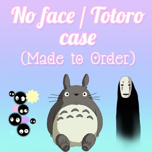 No Face / Totoro - Made to Order Case