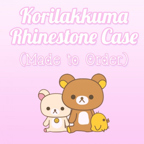 Korilakkuma and Sweets - Made to Order Case (Full Rhinestone)