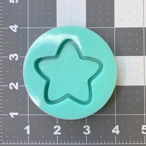 Medium Star Shaker Mold