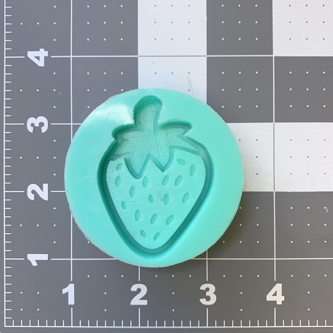 Small Strawberry Shaker Mold
