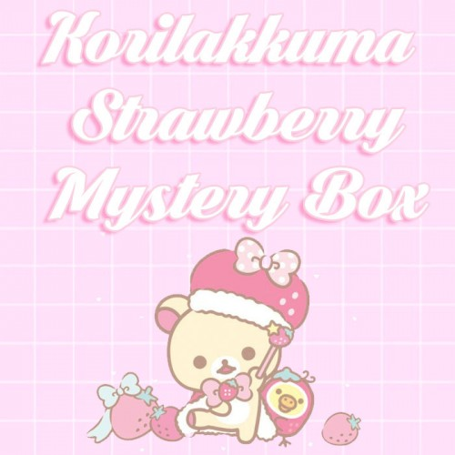 Korilakkuma Strawberry - Made to Order Case