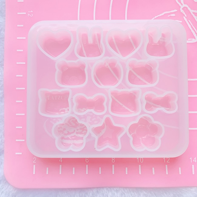 Small Animal Faces Mold