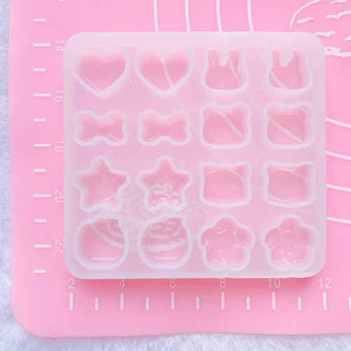 Tiny Animal Faces Mold