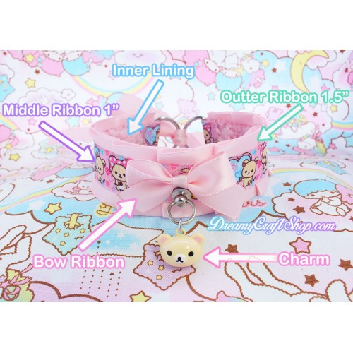 Build your own Kawaii thick collar/choker